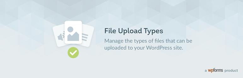 File Upload Types logo.