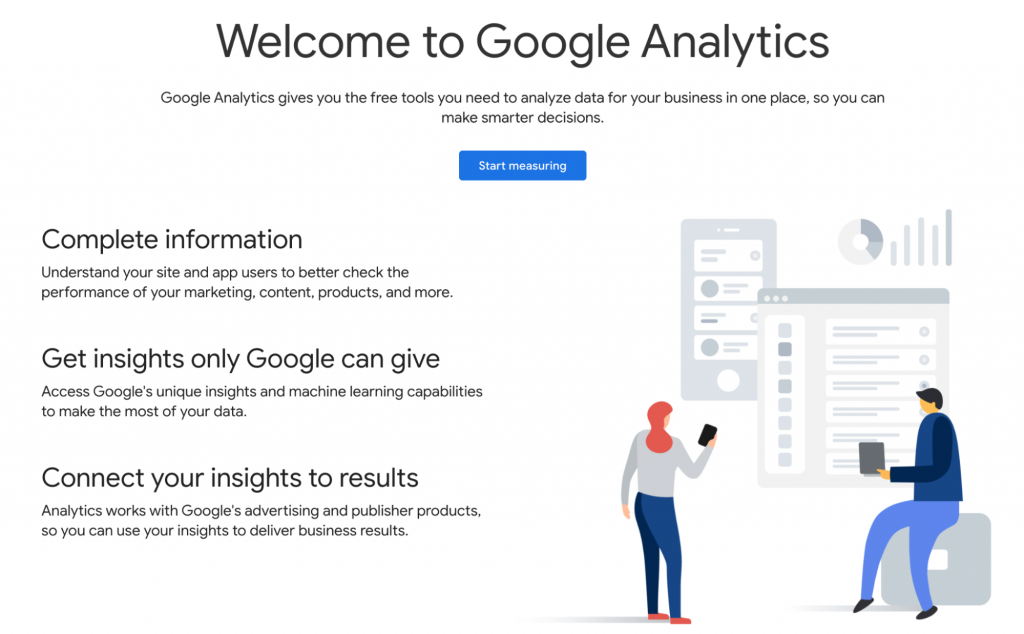 Site Speed's (Google Analytics) homepage