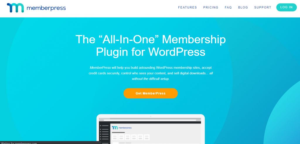 Memberpress homepage
