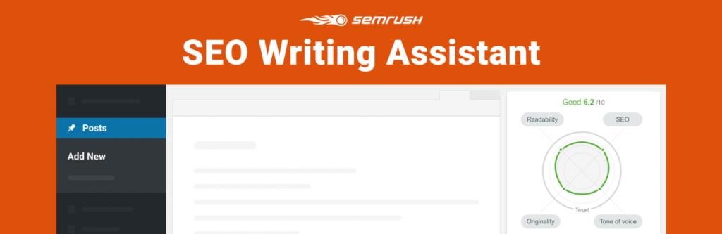 SEMRush SEO Writing Assistant homepage.