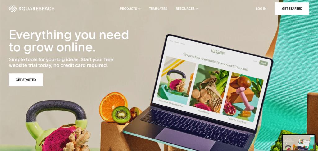 Squarespace, the premium website builder.