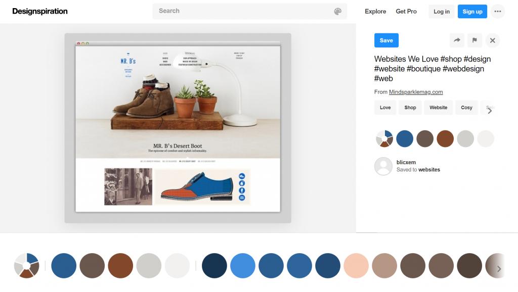 An item on Designspiration.