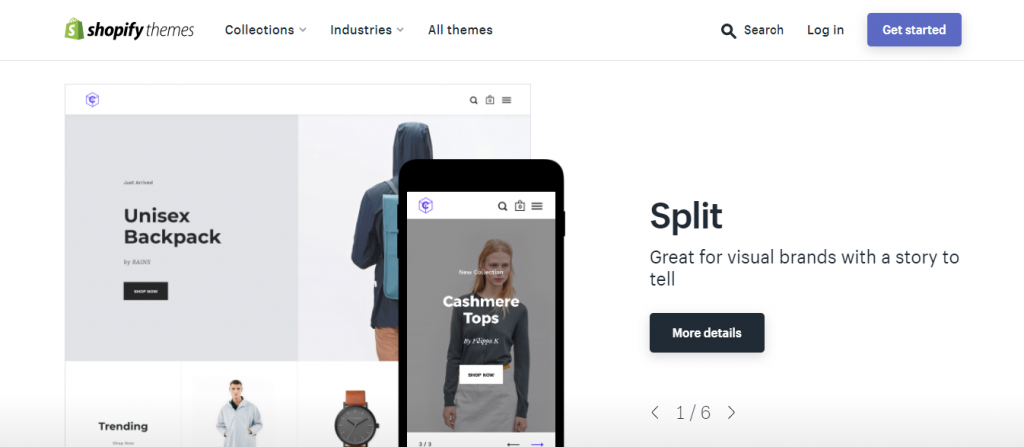 The Shopify theme depository.