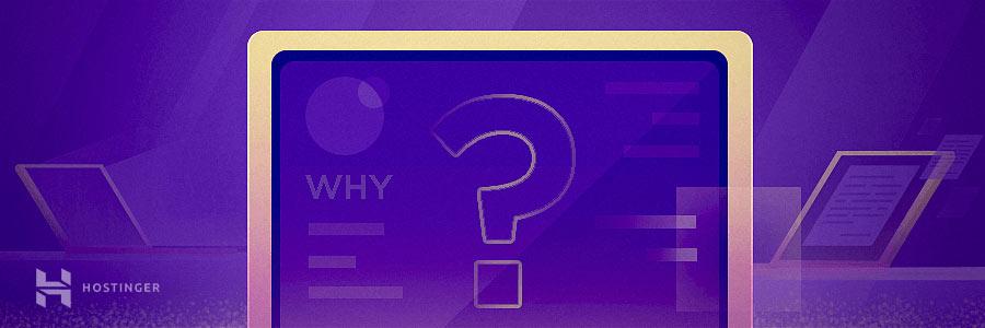 Why start a blog? custom visual.