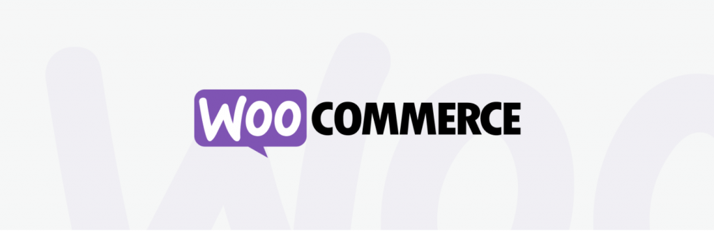 The banner of WooCommerce.