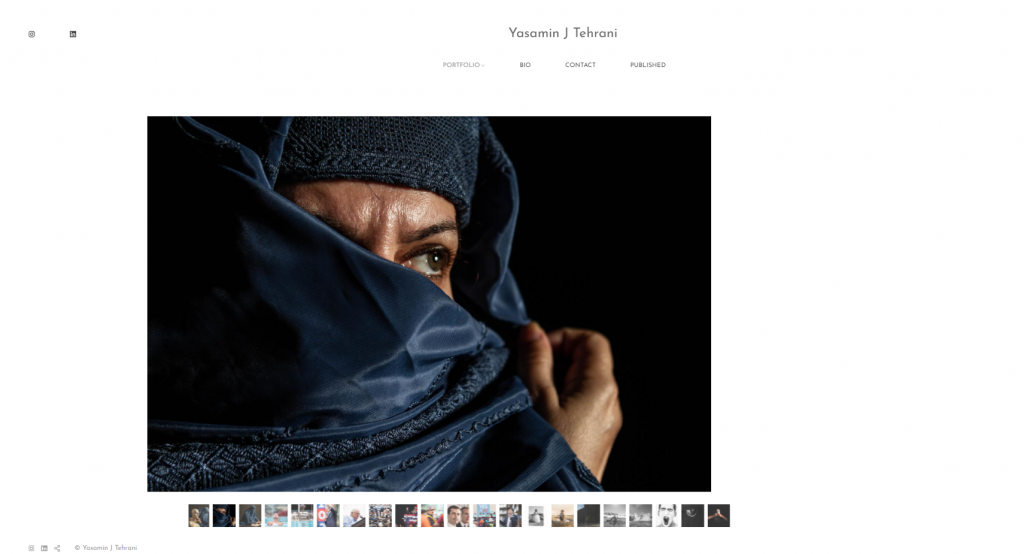 Yasamin J Tehrani's website.