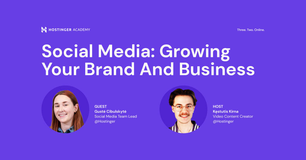 Social Media: Growing Your Brand and Business