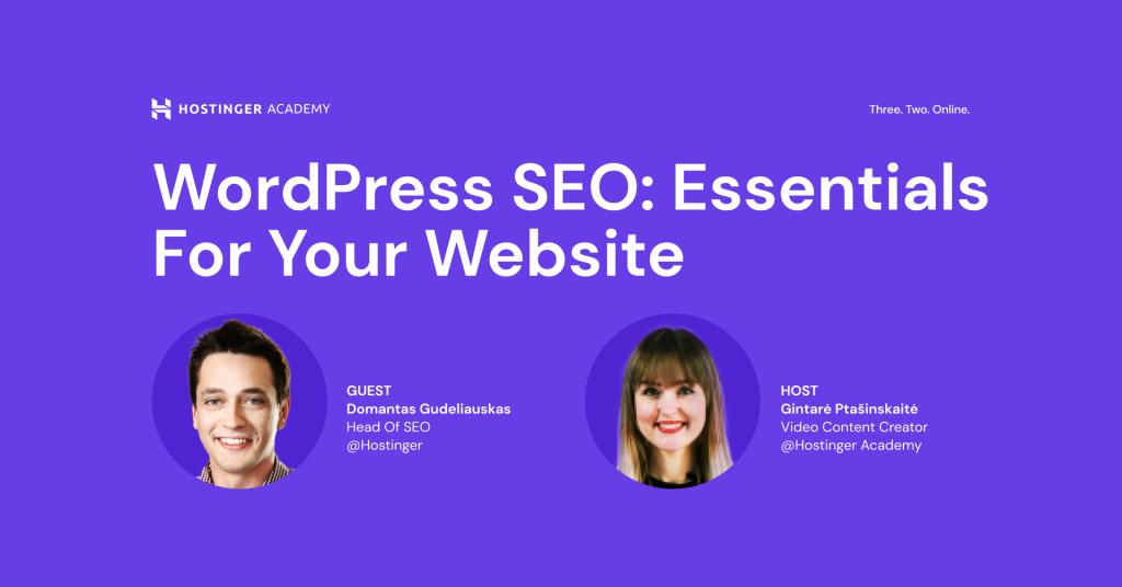 WordPress SEO Essentials for Your Website