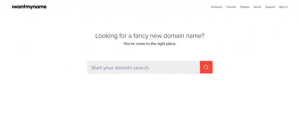 I Want My Name homepage.