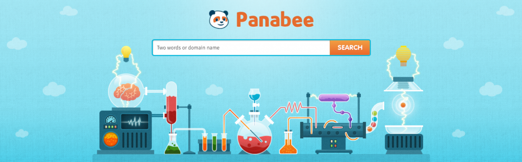 Panabee's front page.
