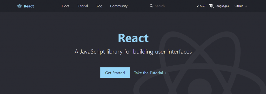 React - A JavaScript library for building user interfaces.