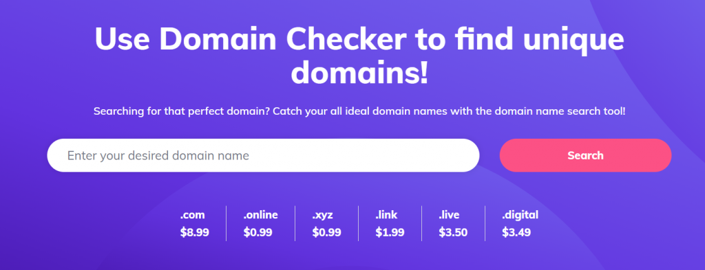First essential website maintenance cost - domain name