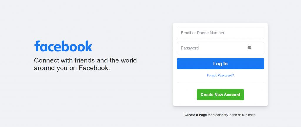 Facebook video sharing platform.