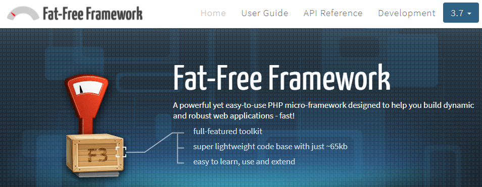Fat-Free Framework - A powerful yet easy-to-use PHP micro-framework designed to help you build dynamic and robust web applications - fast!