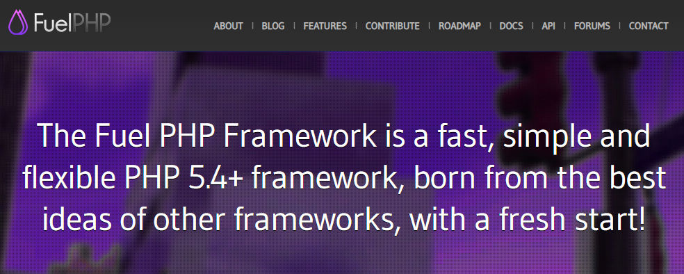 Fuel PHP Framework - fast, simple and flexible PHP 5.4+ framework, born from the best ideas of other frameworks, with a fresh start!