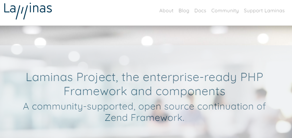Laminas Project - the enterprise-ready PHP Framework and components.