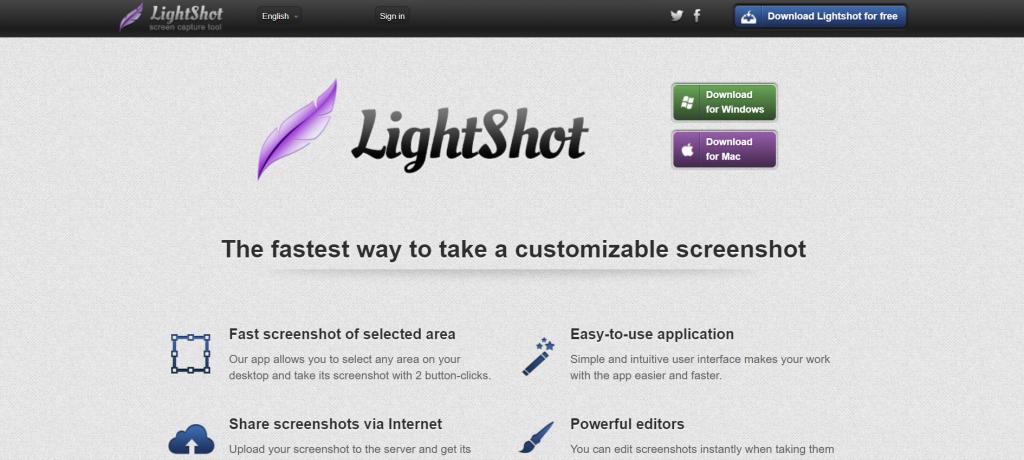 Use Lighshot to take great quality screenshots.
