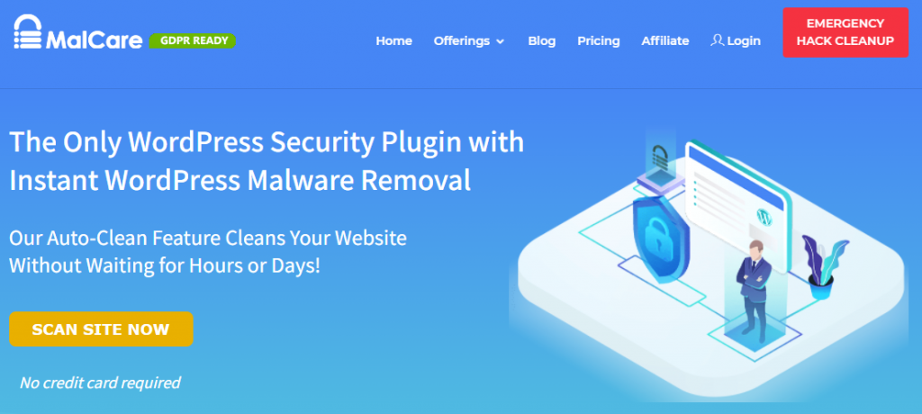 MalCare, a WordPress malware removal and security support service provider.