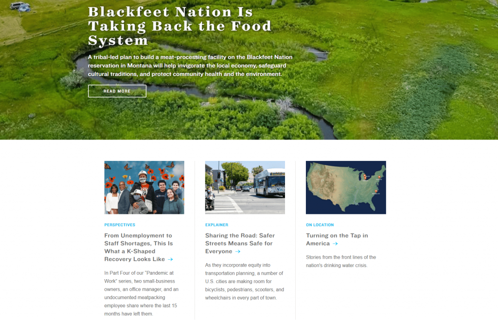 The blog on the Natural Resources Defense Council website.