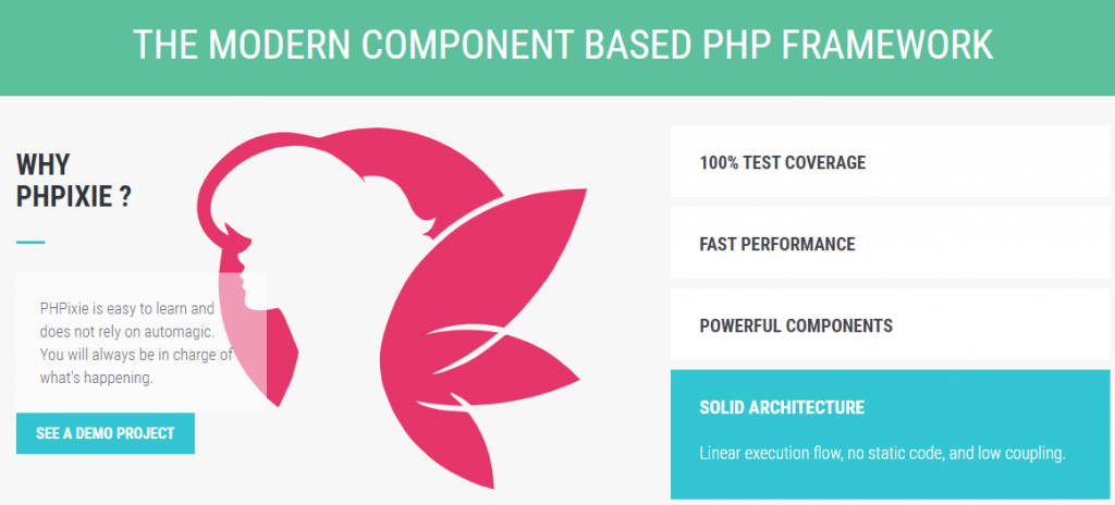 PHPixie - the modern component based PHP framework.