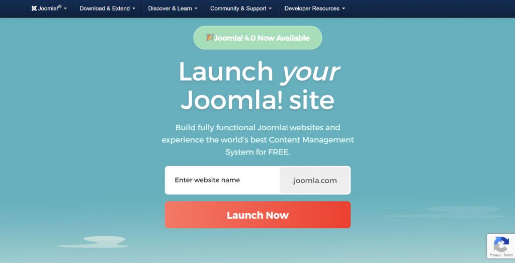 Launch your Joomla! site.